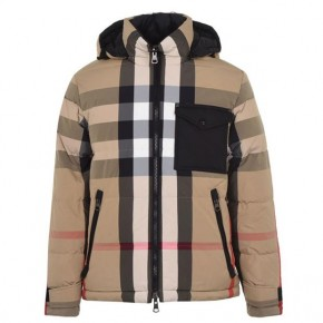 BURBERRY REVERSIBLE RECYCLED NYLON PUFFER JACKET
