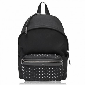 SAINT LAURENT CITY STUDDED BACKPACK