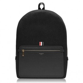 THOM BROWNE LOGO BACKPACK