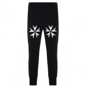 NEIL BARRETT STAR CUFFED JOGGERS