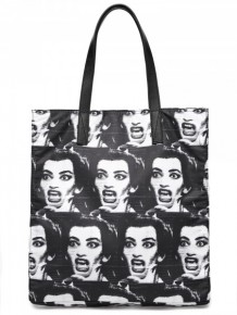 Marc Jacobs printed tote bag