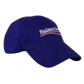 BALENCIAGA NAVY LOGO CAP