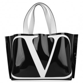 VALENTINO VLOGO BEACH BAG