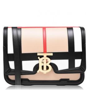 BURBERRY TB SMALL CHECK BAG