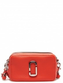 MARC JACOBS The Softshot 21 crossbody bag (Red)