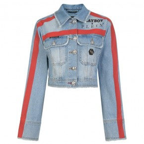 PHILIPP PLEIN PLAYBOY DENIM JACKET
