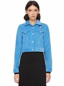 ETRE CECILE Celeste jacket cropped corduroy jacket