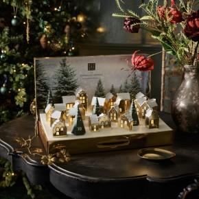 Ritual Advent calendar 2021 bath body scents Christmas village 24 gifts set