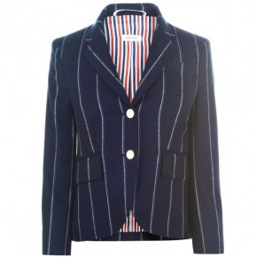 THOM BROWNE PIN STRIPE BLAZER