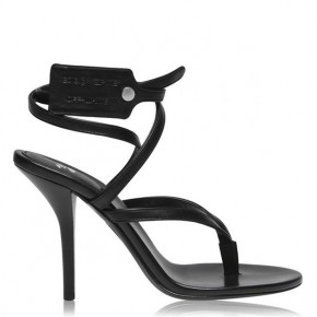 OFF WHITE Zip Tie 90h Heeled Sandals