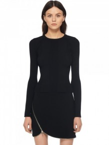 Alexander Wang zip trimmed dress