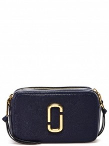 Marc Jacobs Softshot cross body bag (Dark blue)