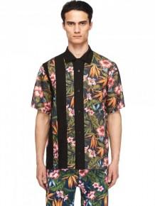 Y-3 multi print shirt