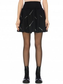 MARC JACOBS zip embellishment skirt
