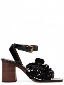SEE BY CHLOE black high heel sandals
