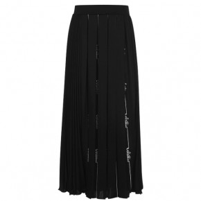 VALENTINO SIGNATURE PLEATED SKIRT