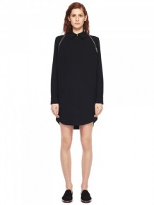 Alexander Wang zip trimmed shirt dress