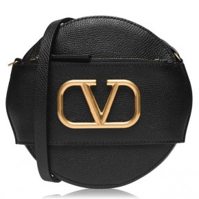 Valentino Garavani VLOGO Black mini bag