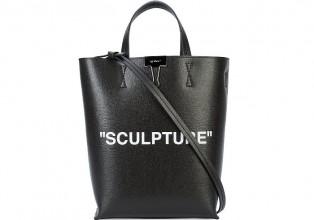 Off White Sculpture tote bag