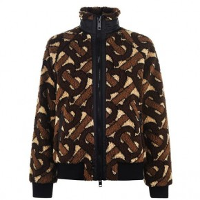 BURBERRY TB MONOGRAM TEDDY JACKET