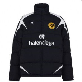 BALENCIAGA FOOTBALL PUFFER JACKET