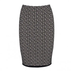 BALMAIN JACQUARD printed SKIRT Co ord set