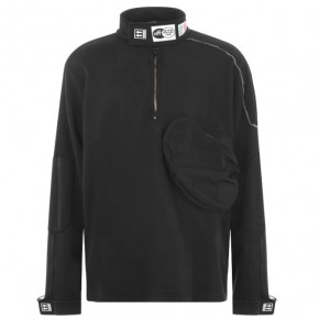 OFF WHITE PARACHUTE QUARTER ZIP SWEATSHIRT