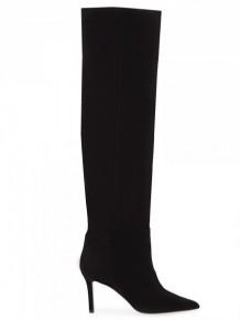 BARBARA BUI black thigh high boots