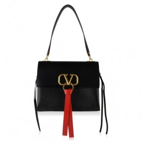 VALENTINO V-RING SHOULDER BAG