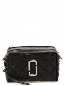 MARC JACOBS The Quilted Softshot 21 bag (Black)