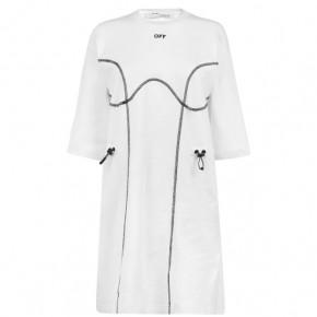 OFF WHITE T SHIRT DRESS