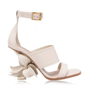 ALEXANDER MCQUEEN Flower 90h Heeled Sandals