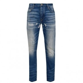 Fear of God The Seventh Collection Blue Distressed Jeans