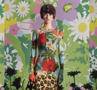 The floral and artistic explosion of Moncler and Richard Quinn