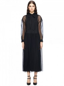 RED Valentino Black Maxi Dress