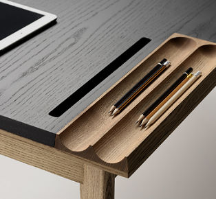 a stylish way to organize your workplace