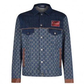 GUCCI ECO WASHED ORGANIC DENIM JACKET