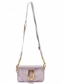 Marc Jacobs Softshot crossbody bag (Silver)