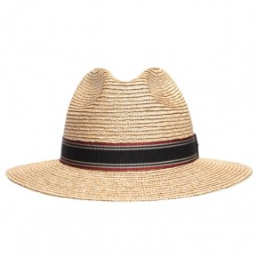Saint Laurent Straw Panama Hat