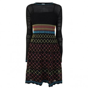 M MISSONI LONG SLEEVE DRESS