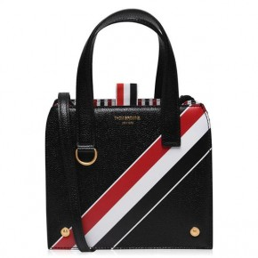 THOM BROWNE SMALL MRS THOM TOTE BAG