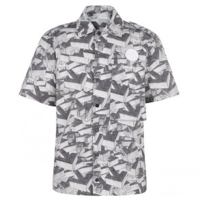 OFF WHITE ARROWS PATTERN SHORT SLEEVE SHIRT