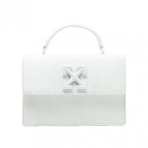 Off White Wrinkled Jitney 1.4 bag White color