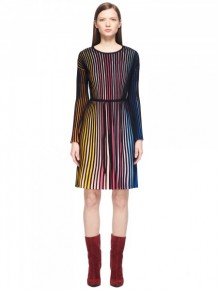 KENZO Ribbed Rainbow Dress