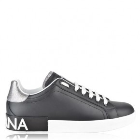 Dolce and Gabbana LOGO LOW TOP TRAINERS