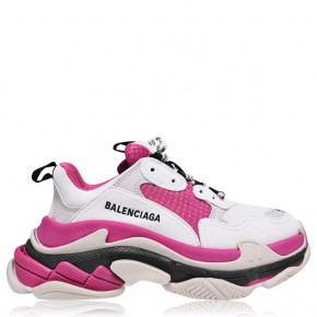 BALENCIAGA Triple S Pink Trainers