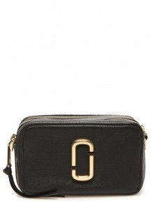 MARC JACOBS The Softshot 27 crossbody bag (Black)