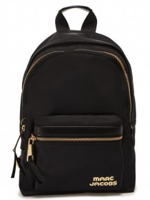 Marc Jacobs Black Trek Pack medium backpack
