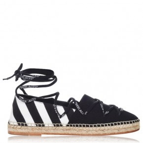Off White Laced espadrilles
