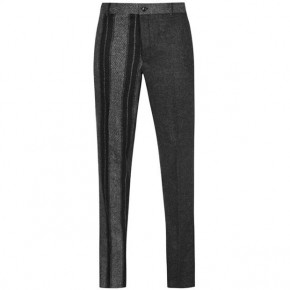THOM BROWNE FUNMIX CHINO TROUSERS